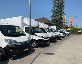 Delivery vans / Commercial vehicles